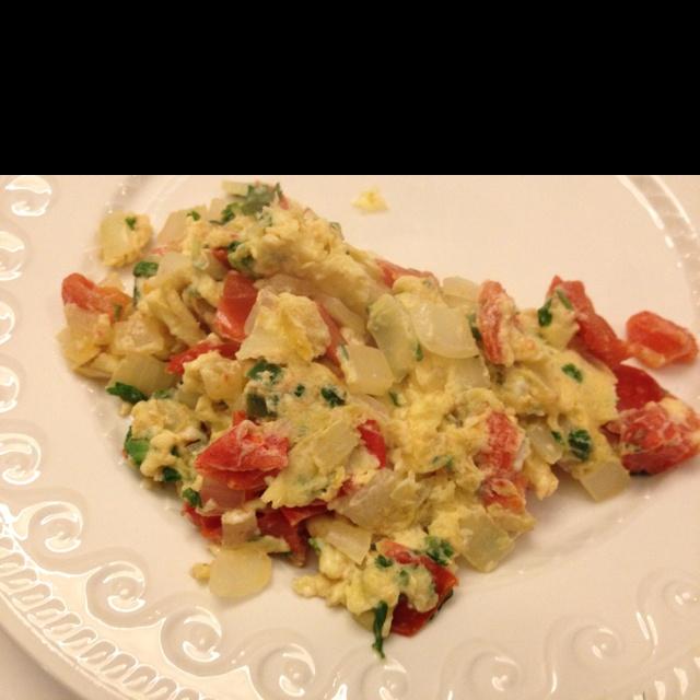 Huevos A La Mexicana Recipe — Dishmaps