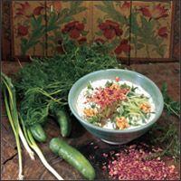 Yogurt & Cucumber Dip or Soup (Mast-o khiar)