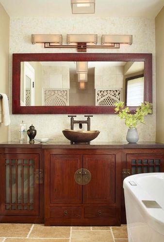 Asian Inspired Bathroom Terra Nova Designs Los Angeles Pinterest