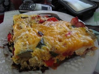 American Cheese Frittata: Journey To My New Me: Low Carb