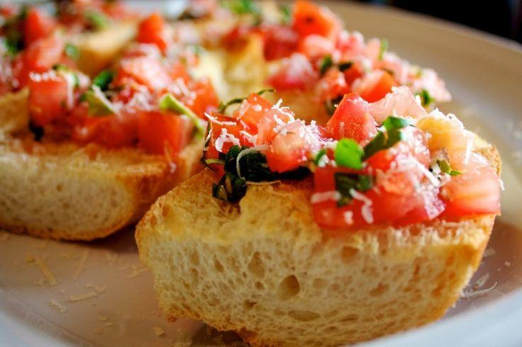 Garlic Bruschetta | Recipes | Pinterest