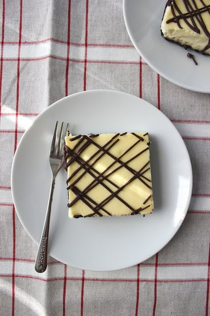 Black and White Cheesecake Squares | Recipes To Try | Pinterest