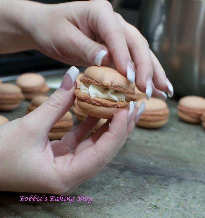 Crème Frâiche Cream Filling: - Pumpkin-Orange Macaron Recipe