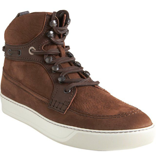 High Top Boat Sneakers by Lanvin