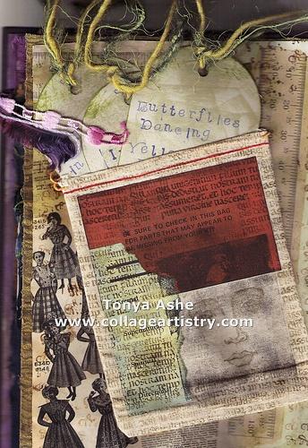 Art journal page. Inspiration