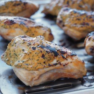 Chicken with Mustard-Herb Topping | Williams-Sonoma