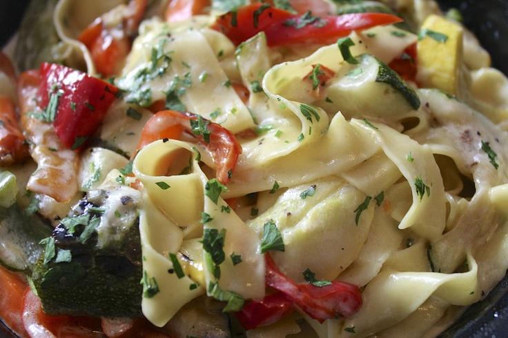 Healthy Veggie Alfredo   Favorite Recipes   Pinterest