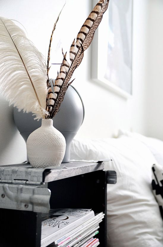 dreamcatcher, feathers in interior styling, feather styling, scandinavian interior, scandinavian love song.