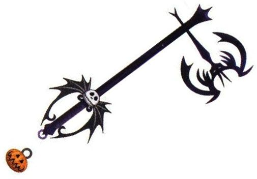 nightmare before christmas keyblade | Kingdom Hearts | Pinterest