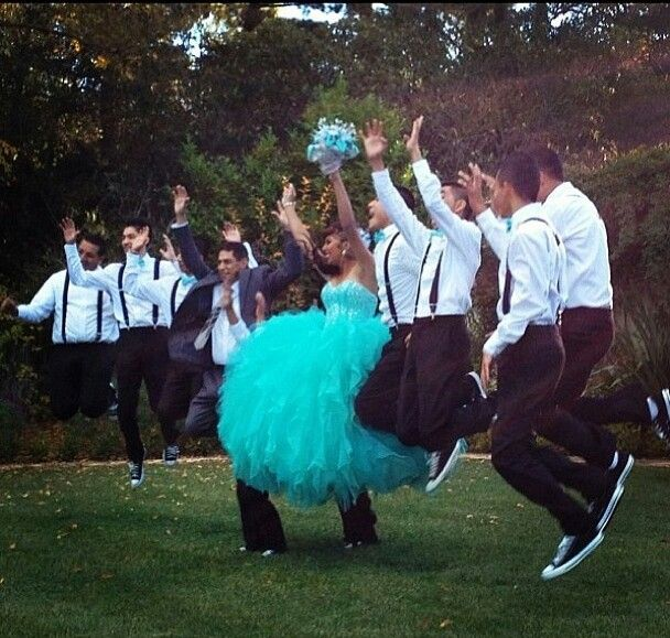 Great picture with chambelanes Quinceanera Chambelanes Outfits Pink