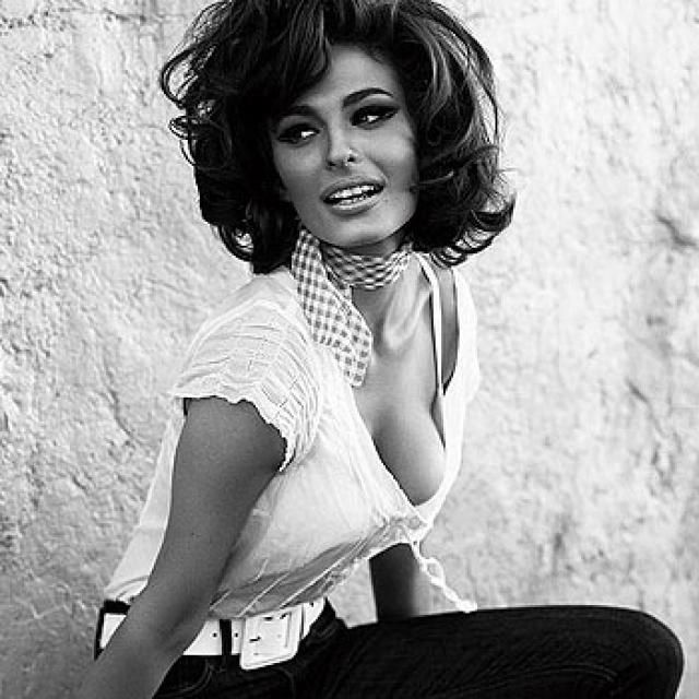 Young Sophia Loren Bellissimo Pinterest
