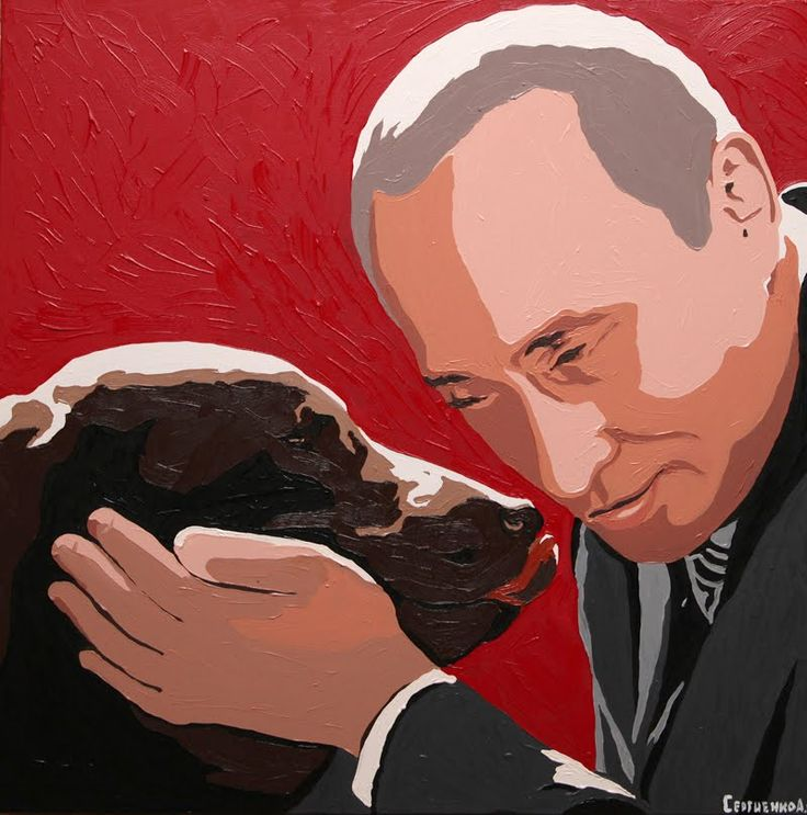 A Puppy For Putin: Japanese Akita Pup Given To Russian President ... #pets #animals ... PetsLady.com