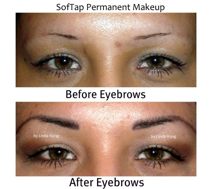 To over tweezing now with her softap permanent makeup quot after eyebrows