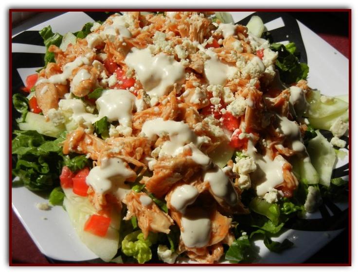 Buffalo Chicken Salad | Buffalo Chicken something... | Pinterest