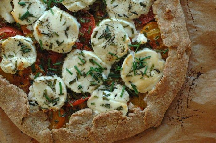 French Tomato Tart | Dinner Time | Pinterest