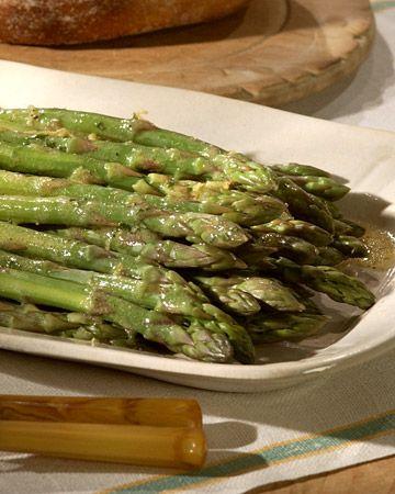 Asparagus Vinaigrette - Martha Stewart Recipes