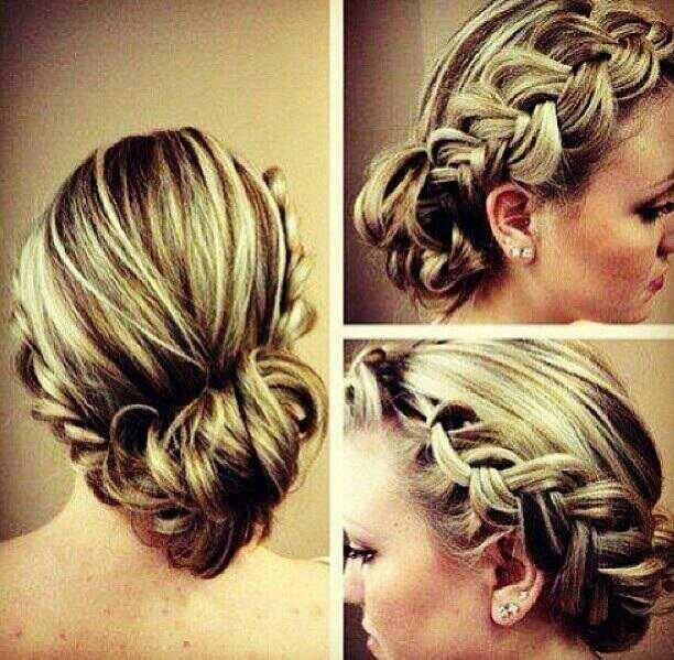 Heart braids ? Hairstyles Pinterest