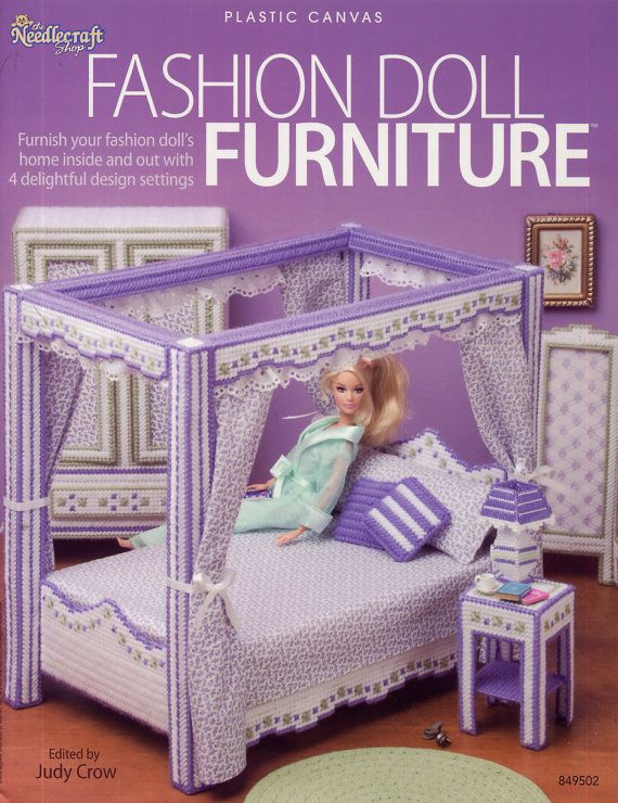 Fashion Doll Furniture Plastic Canvas Pattern Needlecraft Shop Be