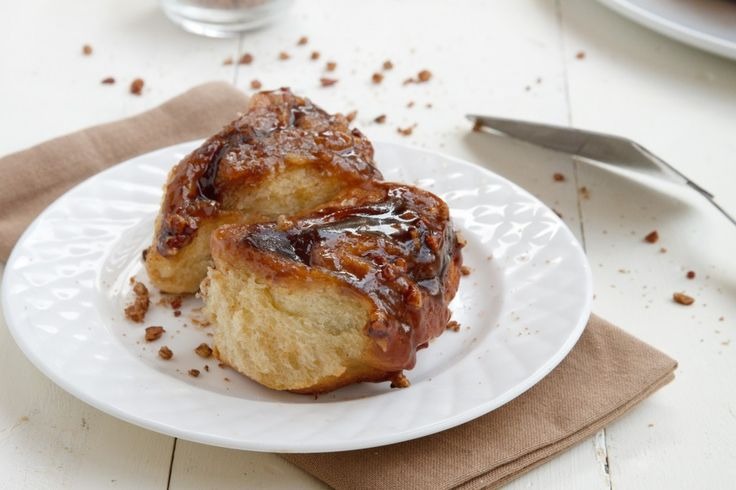 Apple Butter Cinnamon Pecan Sticky Buns | Recipe