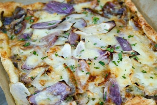 Rosemary Onion Tart | Recipe