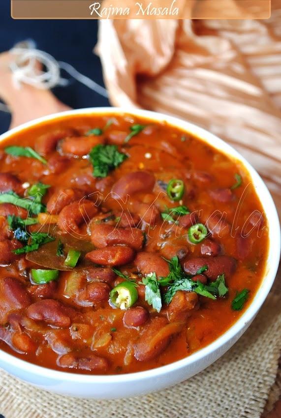 US Masala: Rajma masala/Red beans curry