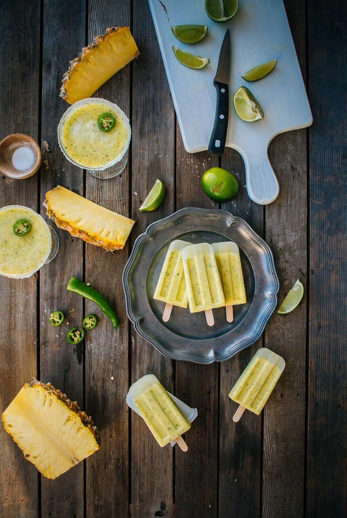 Pineapple Margarita Ice Pops (Souvlaki For The Soul)
