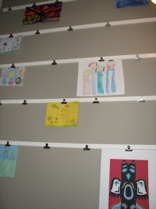 bulldog clip art display