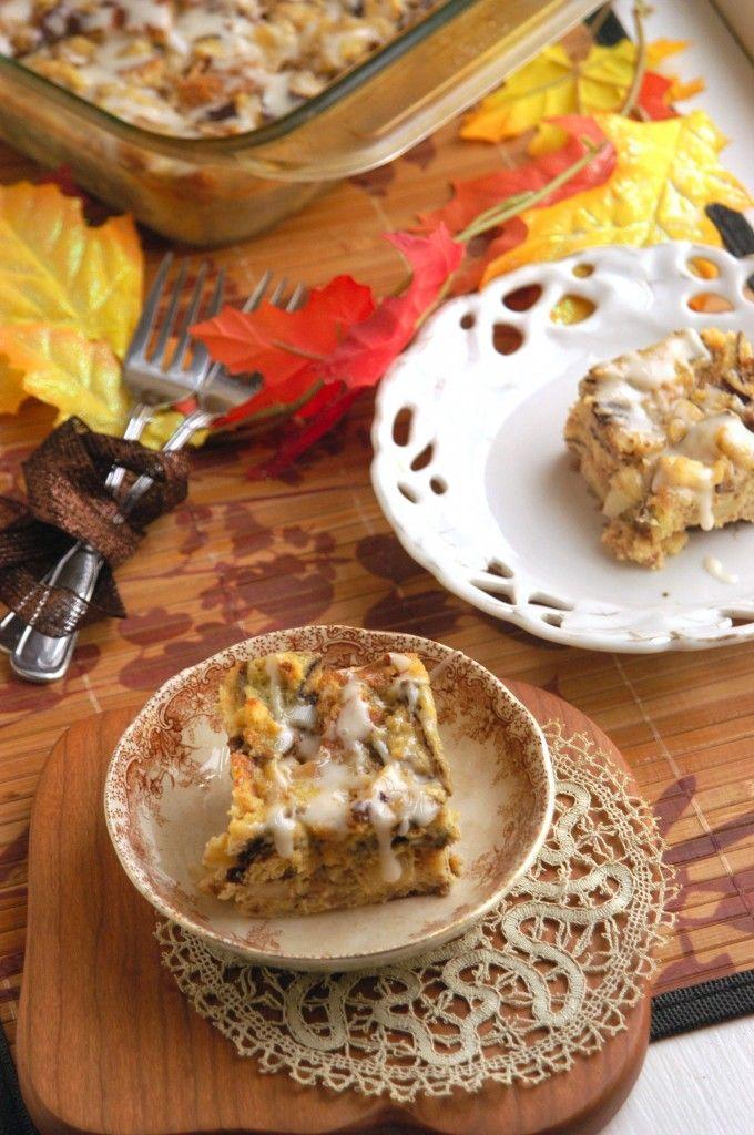 Apple Cider Bread Pudding | Tempting Apple Recipes :-) | Pinterest