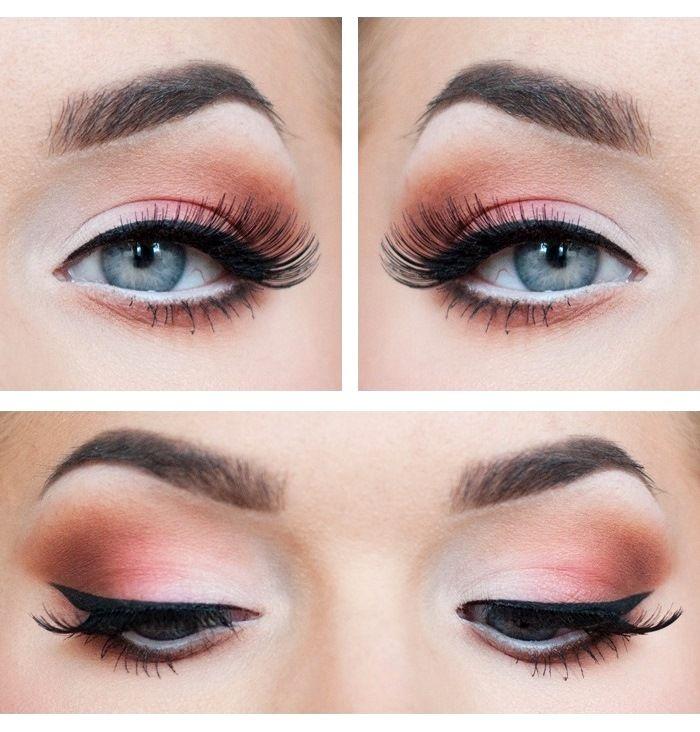 Как сделать смоки-айс для серых глаз
