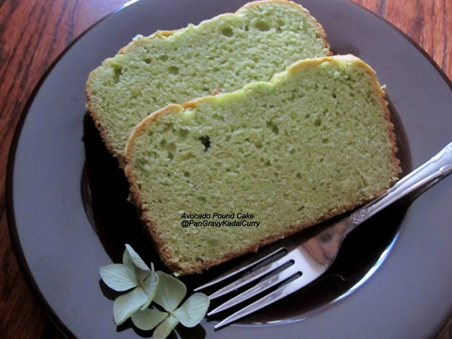 Avocado Pound Cake | desserts | Pinterest