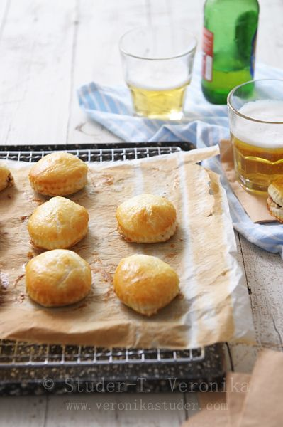 Goat Cheese Puffs | For the kitchen | Pinterest