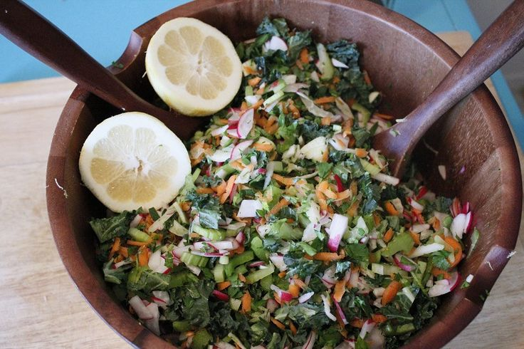 Chopped Kale Salad | Salads | Pinterest