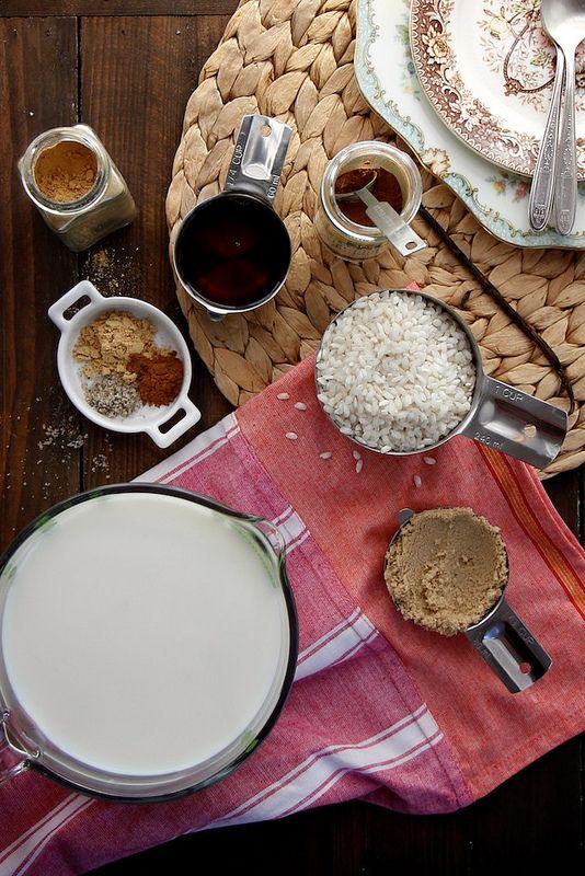 Maple Ginger Rice Pudding   Ginger & Spice   Pinterest