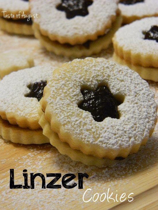linzer cookies | sweets | Pinterest