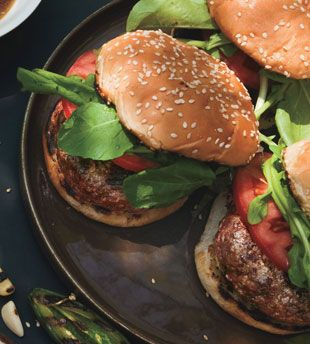 ... Grilled Burgers with Meyer Lemon Butter. Definitely a next-level
