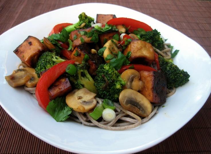 Ginger-Scallion Noodles With Tofu Recipes — Dishmaps