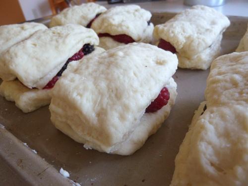 Marionberry Biscuits ~ portlandfarmersmarket