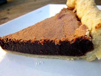 Chocolate Chess Pie | Oh Sweet Jesus | Pinterest