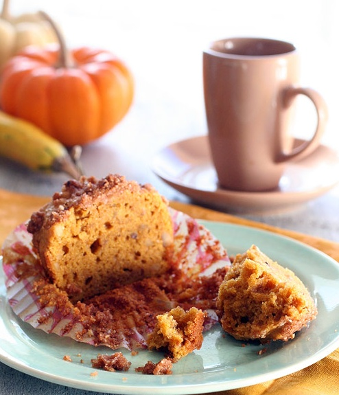 Gluten-Free Pumpkin Streusel Muffins | Recipes: Gluten Free | Pintere ...