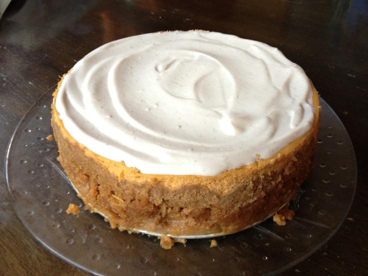 Pumpkin Pie Cheesecake | Grateful for fall | Pinterest