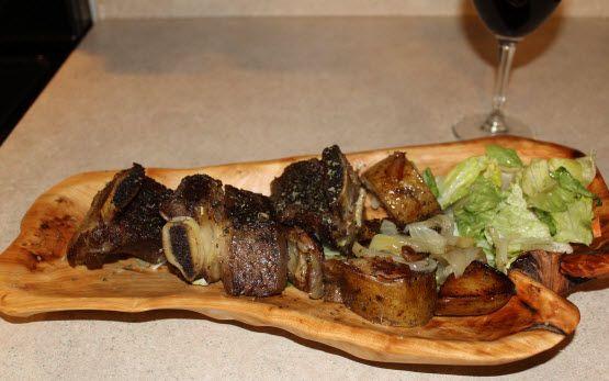 Slow Cooker Korean Grass Fed Short Ribs Recipe — Dishmaps