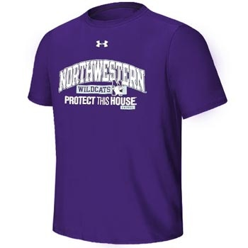 Under Armour® Youth 'Protect This House' T-Shirt     100% polyester. Superior Heatgear moisture transport.