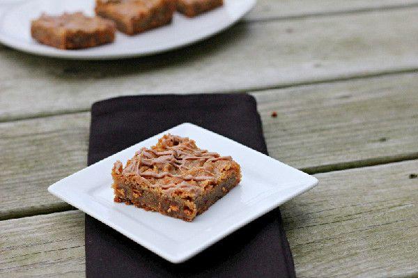 Cinnamon Blondies?! | Food | Pinterest