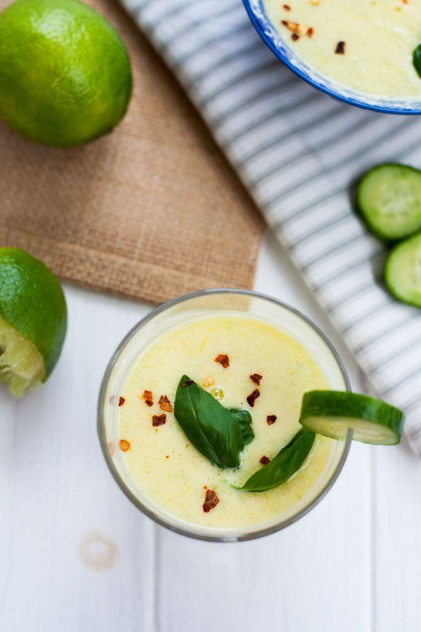... -froide-mangue-concombres | Soupes et veloutés froids/Cold soups