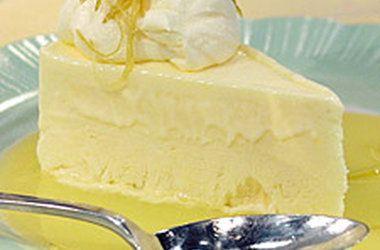 Frozen Lemon Mousse | Say Cheesecake! | Pinterest