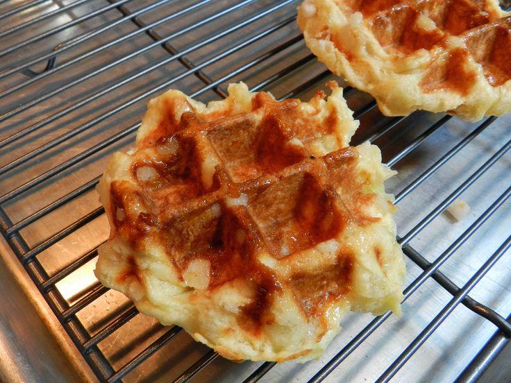 Belgian Sugar Waffles (Liege Waffles) | bon appetit! | Pinterest