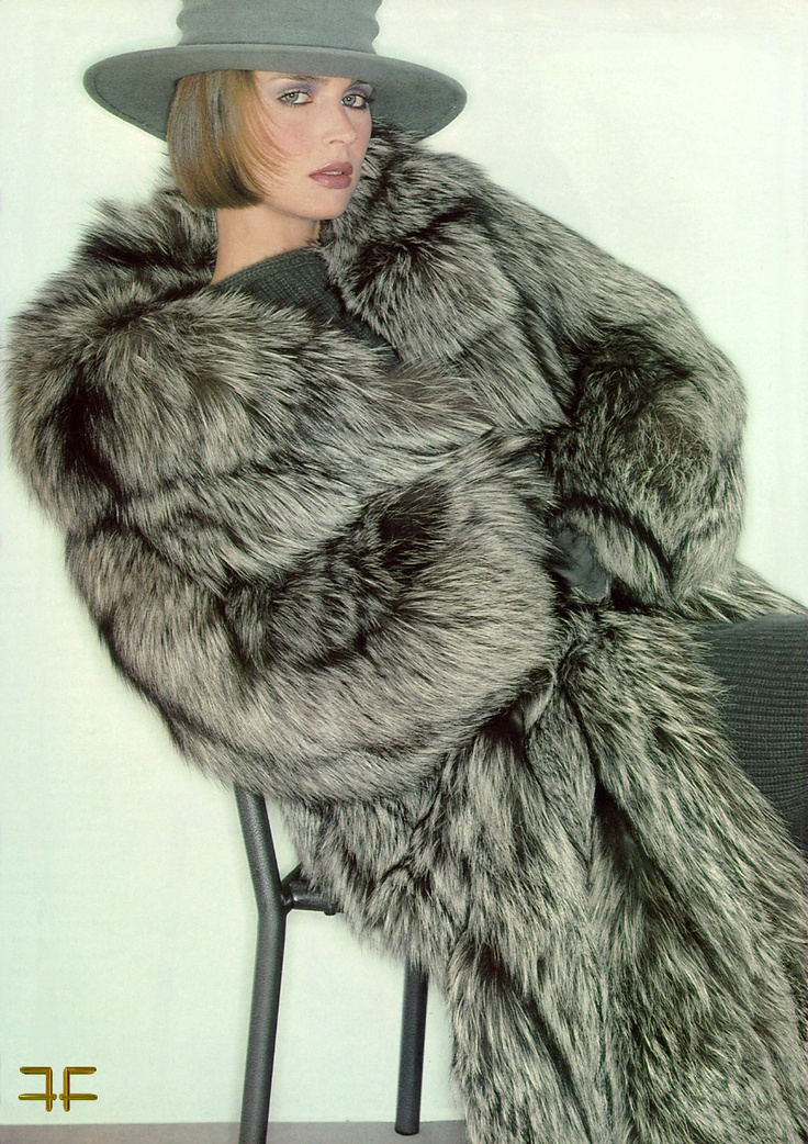 Silver Fox Fur Coat | Homewood Mountain Ski Resort