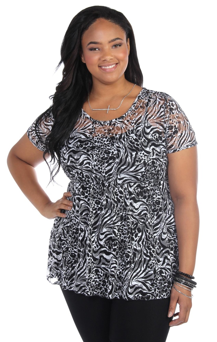 Plus Size Baby Doll Blouses