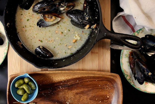Fore Street Mussels From Portland, Maine Recipes — Dishmaps