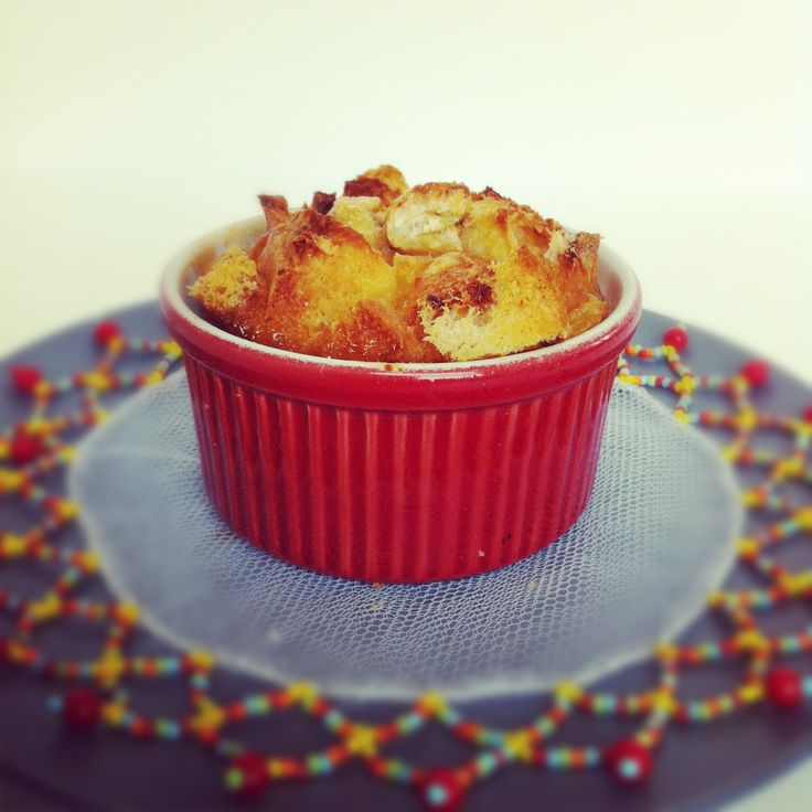 Banana bread pudding--could work for BREAKFAST, too. Made with whole ...